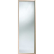 "Shaker Sliding Wardrobe Door 762mm (30"") Maple Mirror Door"